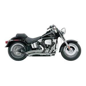 Cobra Speedster Short Swept Exhaust For Harley Softail 2007-2011 Chrome [Previously Installed]