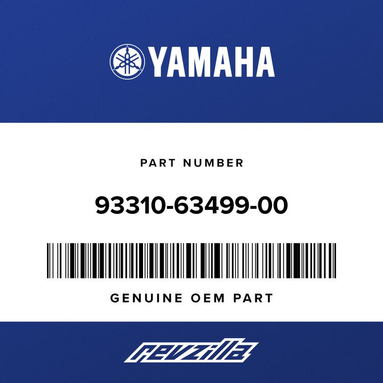 Yamaha BEARING 93310-63499-00