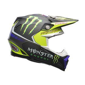 Bell Moto-9 Flex Pro Circuit Helmet (XL) Black/Green / LG [Open Box]