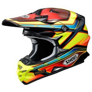 Shoei VFX-W Capacitor Helmet Yellow/Black / LG [Demo - Good]