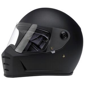 Biltwell Lane Splitter Helmet Matte Black / XS [Open Box]