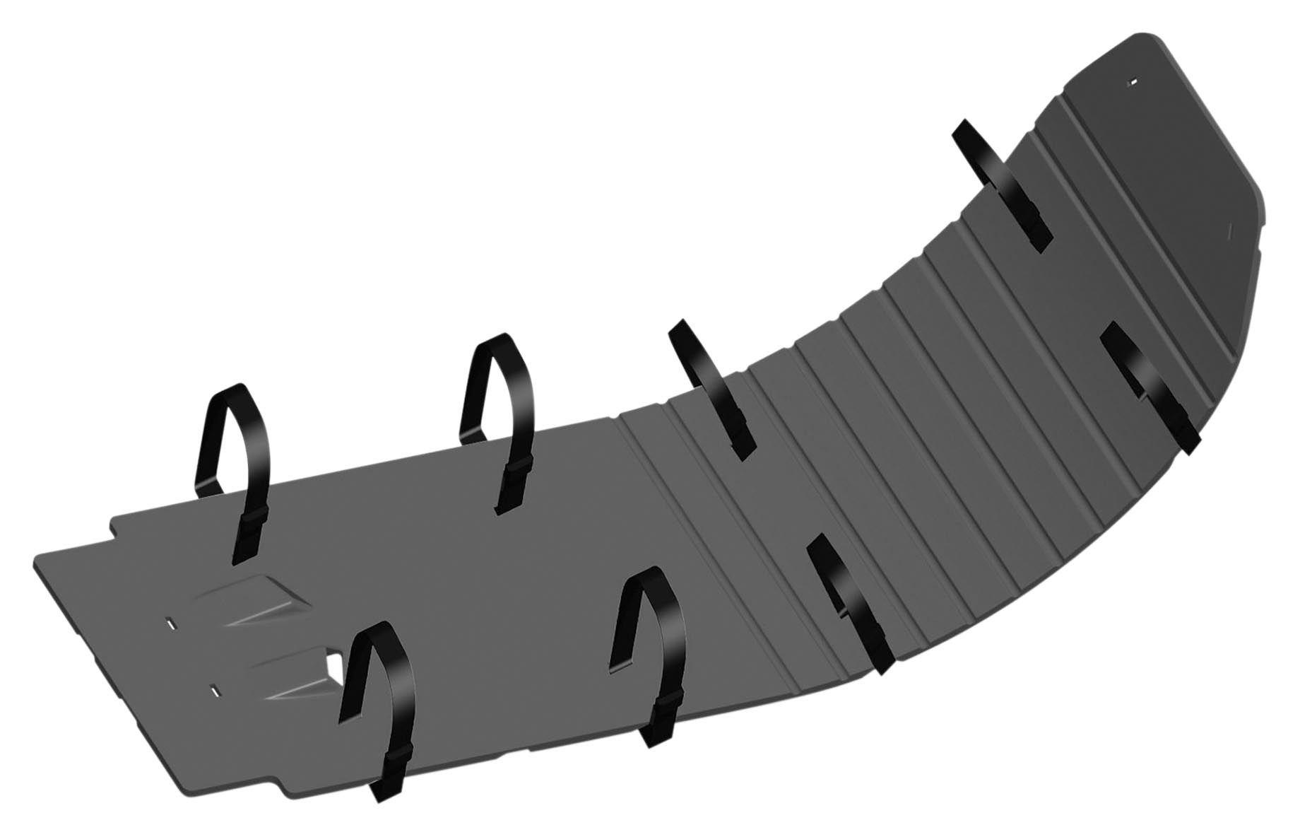 Cycra Skid Plate Speed Armor High Impact Black KTM All 2-Stroke Models 2007-2012