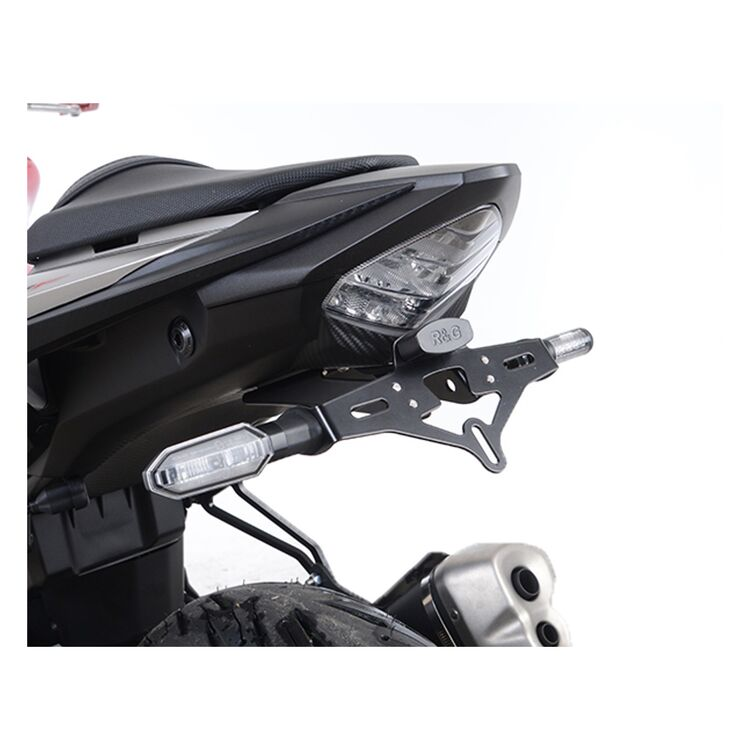 Naked 2016 R/&G RACING  BLACK TAIL TIDY  Kawasaki ER6-N