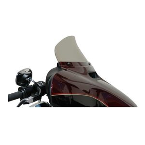 "Wind Vest Replacement Windshield For Harley Touring 2014-2020 Dark Smoke / 10"" Tall [Previously Installed]"