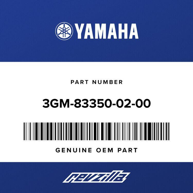Yamaha FLASHER RELAY ASSY 3GM-83350-02-00