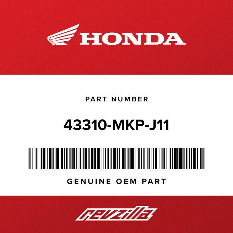 Honda HOSE, RR. BRAKE 43310-MKP-J11