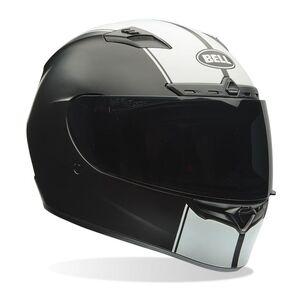 Bell Qualifier DLX MIPS Rally Helmet Matte Black/White / MD [Open Box]