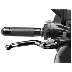 Puig Foldable Clutch Lever 2.0 Black/Silver [Previously Installed]