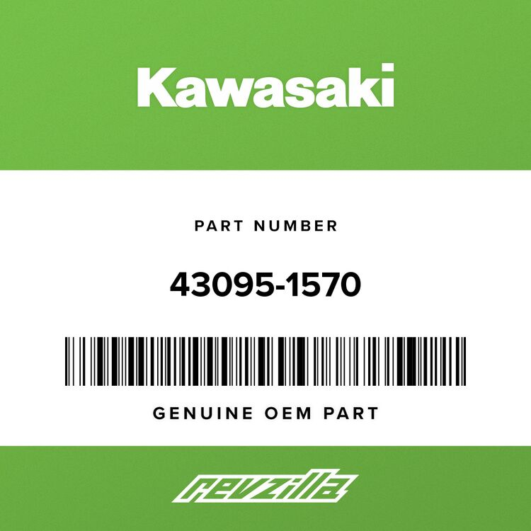 Kawasaki HOSE-BRAKE, FR, 444MM 43095-1570