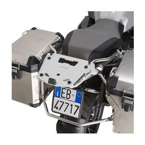Givi SRA5112 Aluminum Top Case Rack BMW R1200GS Adventure / R1250GS Adventure 2014-2019 Silver [Blemished - Very Good]