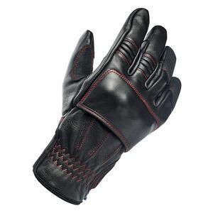 Biltwell Belden Gloves Black/Red / MD [Demo - Good]