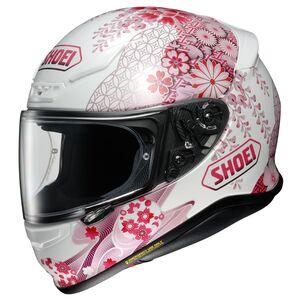Shoei RF-1200 Harmonic Helmet Pink/White / SM [Open Box]