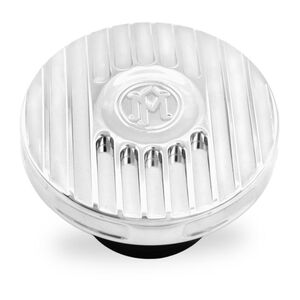 Performance Machine Grill V2 Gas Cap For Harley 1996-2020