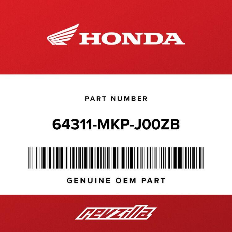 Honda COWL B, R. MIDDLE *NH105* (MAT BLACK) 64311-MKP-J00ZB