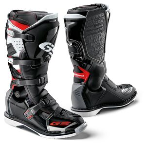 BMW GS Pro Boots Black/Red/White / 45 [Open Box]