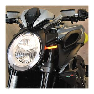 New Rage Cycles LED Front Turn Signals MV Agusta Dragster 800 / RR 2019-2020