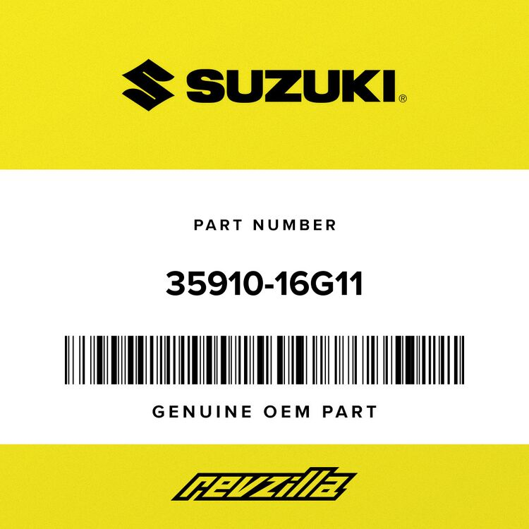 Suzuki LAMP ASSY, LICEN 35910-16G11