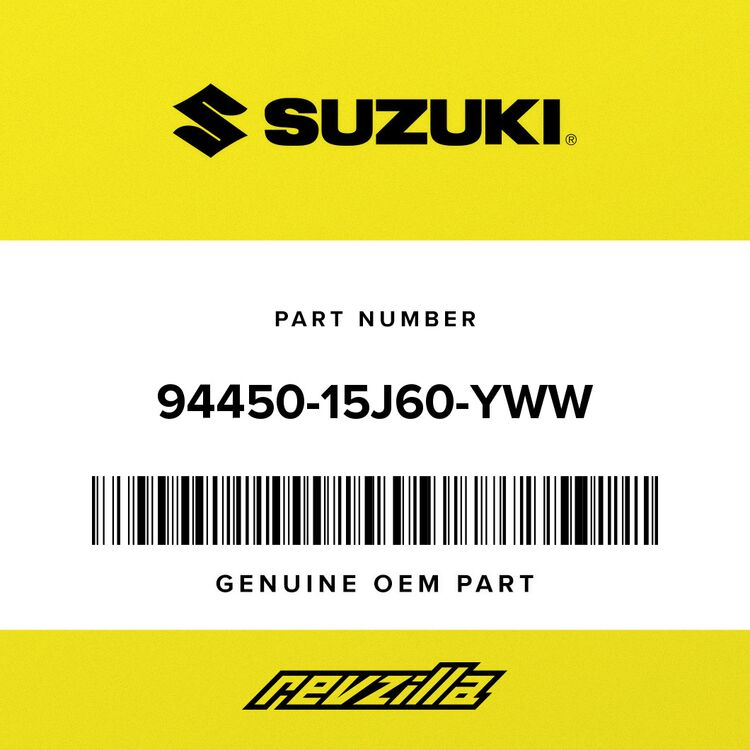 Suzuki COWLING, SIDE RH (WHITE) 94450-15J60-YWW