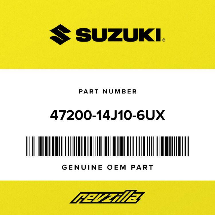 Suzuki COVER, FRAME LH (BLACK) 47200-14J10-6UX