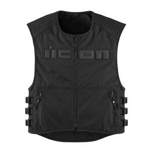 Icon Brigand Vest Stealth Black / LG-XL [Demo - Good]