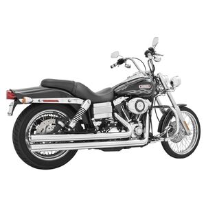 Freedom Performance Independence Long Exhaust For Harley Dyna 2006-2017 Chrome [Open Box]