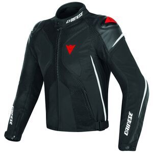 Dainese Super Rider D-Dry Jacket Black/White/Red / 52 [Demo - Good]