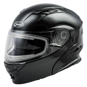 GMax MD01S Snow Helmet - Electric Shield Black / 3XL [Open Box]