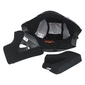 Biltwell Gringo Helmet Liner & Cheek Pads Black/Grey / LG 29MM [Open Box]