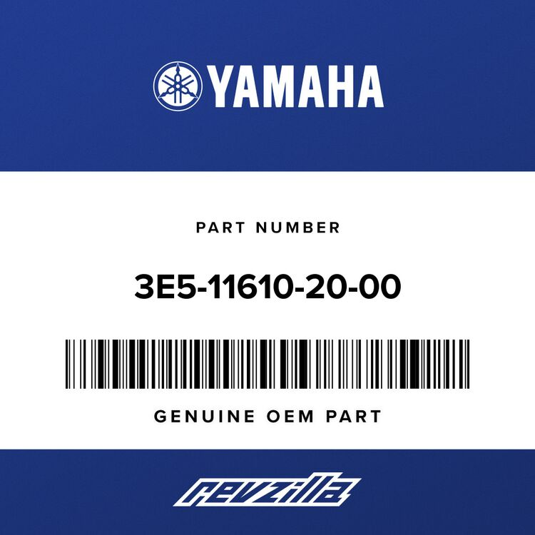 Yamaha PISTON RING SET (0.50MM O/S) 3E5-11610-20-00
