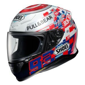 Shoei RF-1200 Marquez Power Up Helmet Red/White/Blue / MD [Demo - Good]