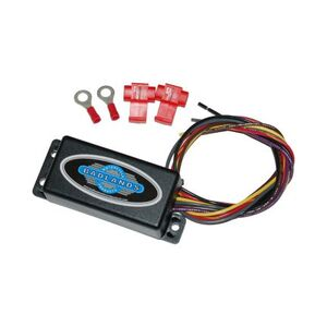 Badlands Hardwired Automatic Turn Signal Canceler For Harley 1973-1991