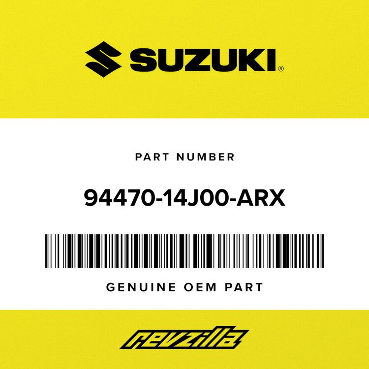 Suzuki COWLING, UNDER RH (BLACK) 94470-14J00-ARX