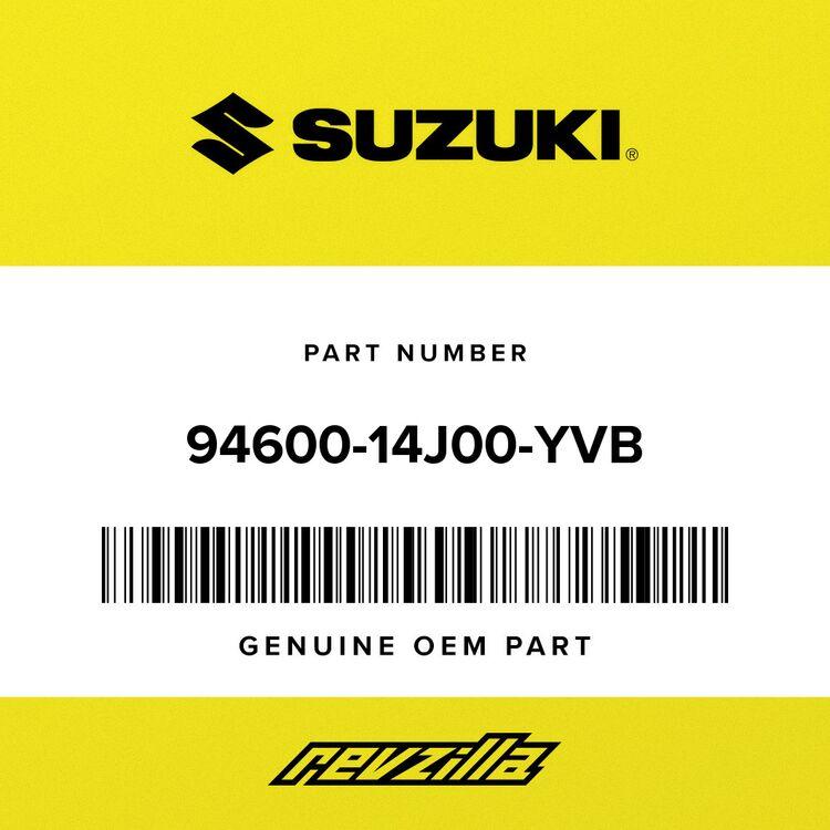 Suzuki COVER, INTAKE FRONT (BLACK) 94600-14J00-YVB