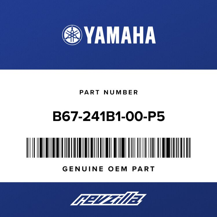 Yamaha COVER, TANK B67-241B1-00-P5