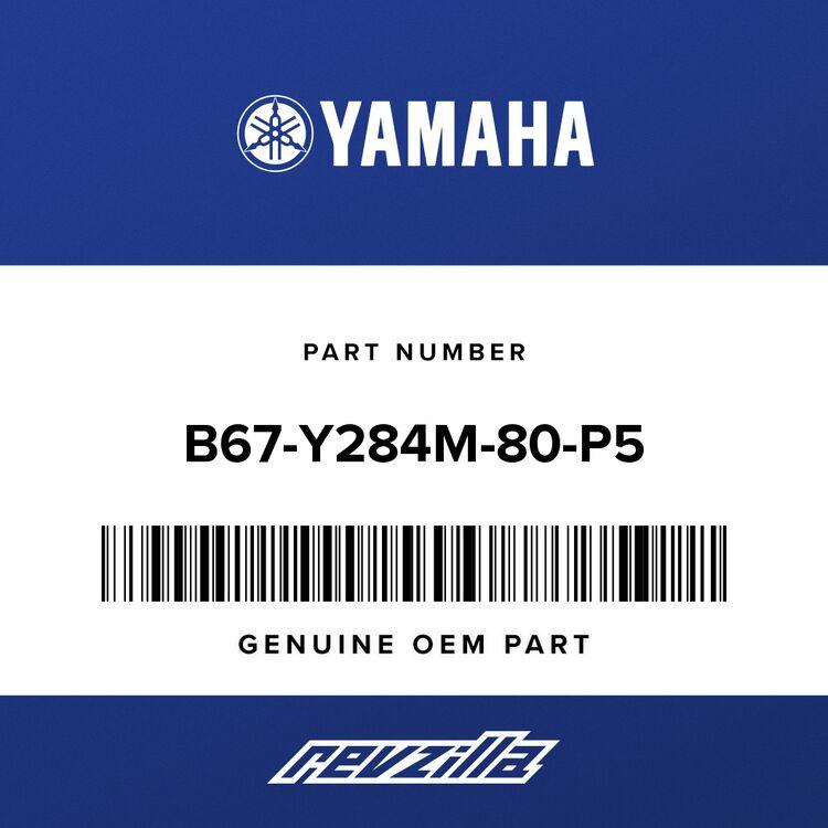 Yamaha COVER 1 B67-Y284M-80-P5