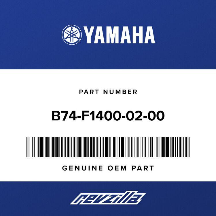 Yamaha ENGINE BRACKET COMP. B74-F1400-02-00