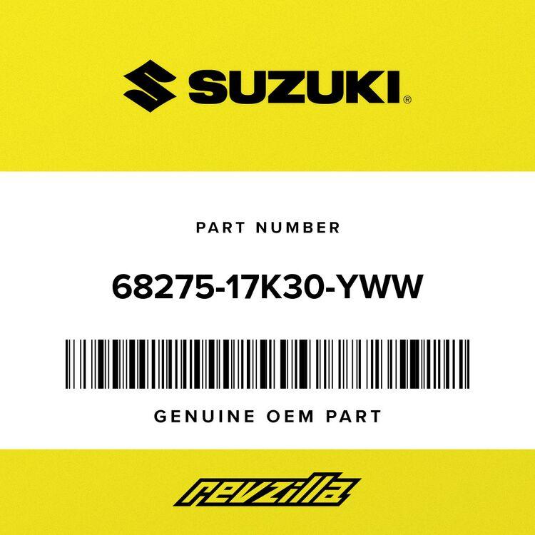 Suzuki .EMBLEM, SUZUKI (WHITE) 68275-17K30-YWW