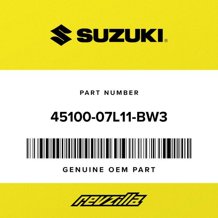 Suzuki SEAT ASSY (BLACK, RED) 45100-07L11-BW3