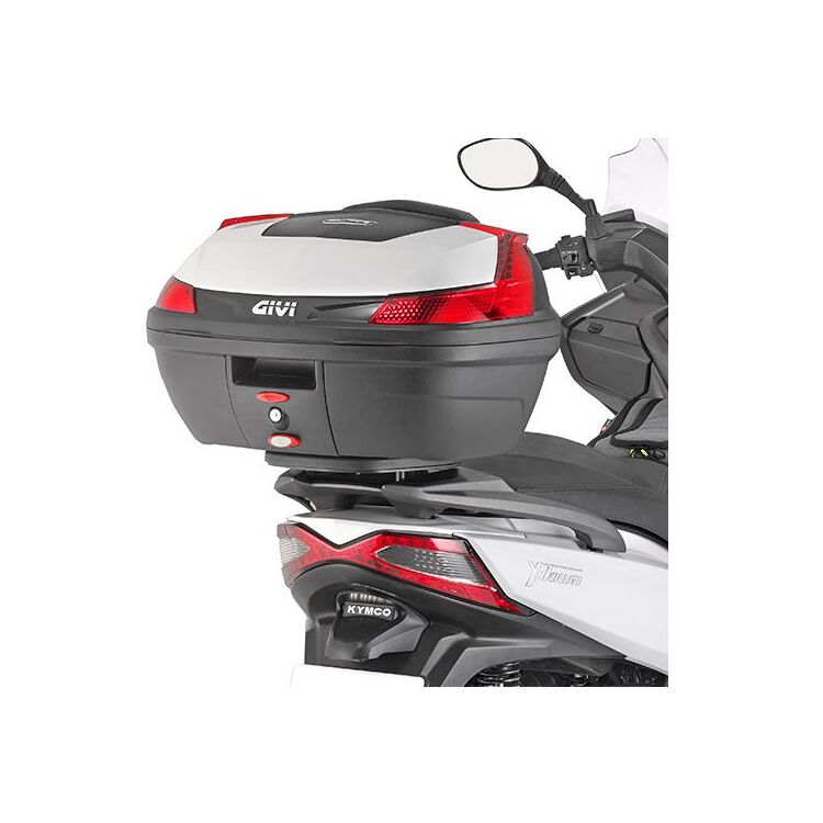 Givi SR410 Carrier Black Monokey top-case with M5 Plate//max Additional Load 10 kg Kawasaki Concours 1400