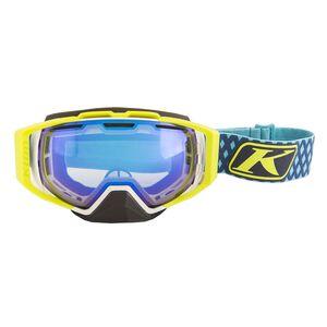 Klim Oculus Diamond Fade Goggles White/Smoke Blue Mirror [Open Box]