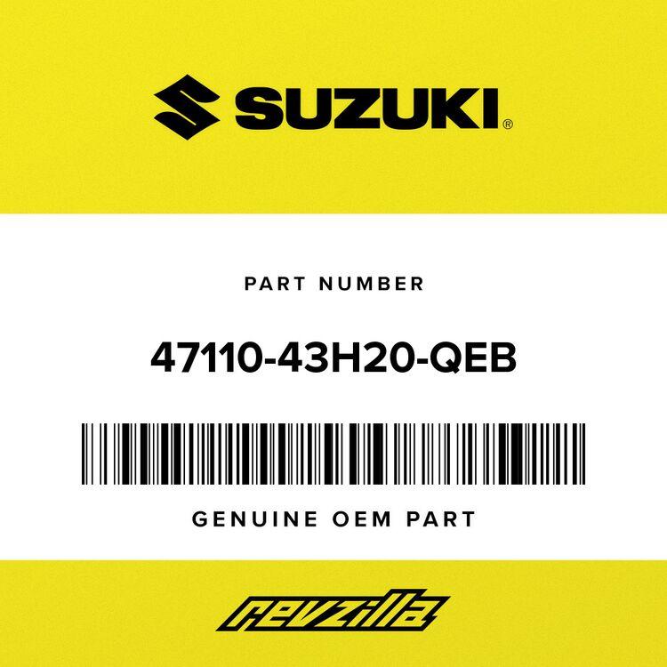 Suzuki COVER 47110-43H20-QEB