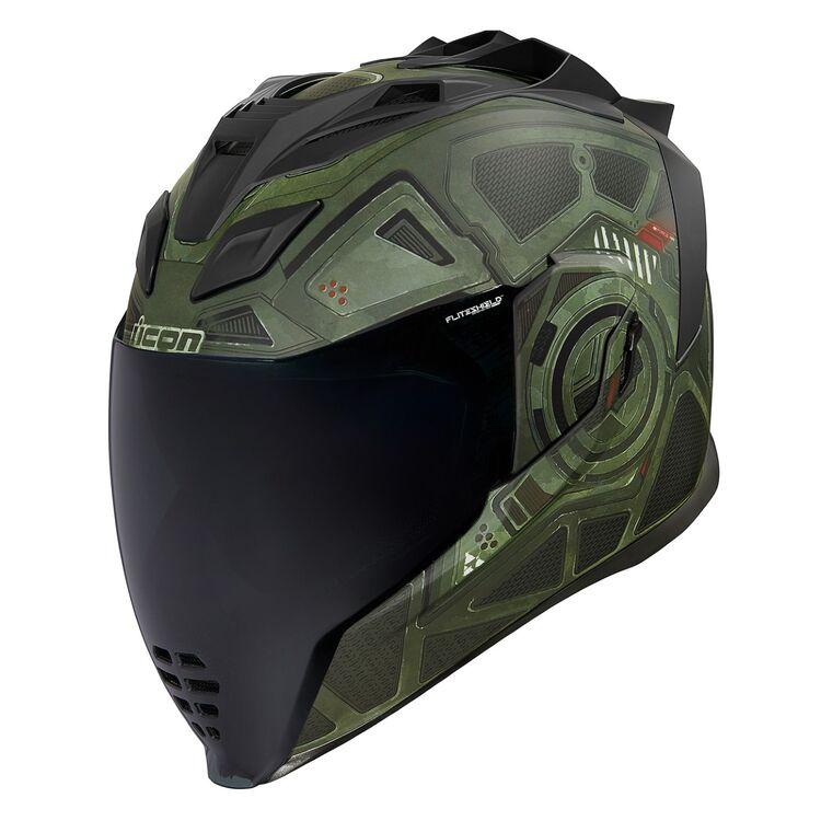 *Ships Same Day* ICON FLITE SHIELDS VISORS AND SPOILERS FOR AIRFLITE Helmets