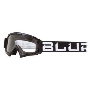 Blur Youth B-10 Goggles Black/White [Open Box]