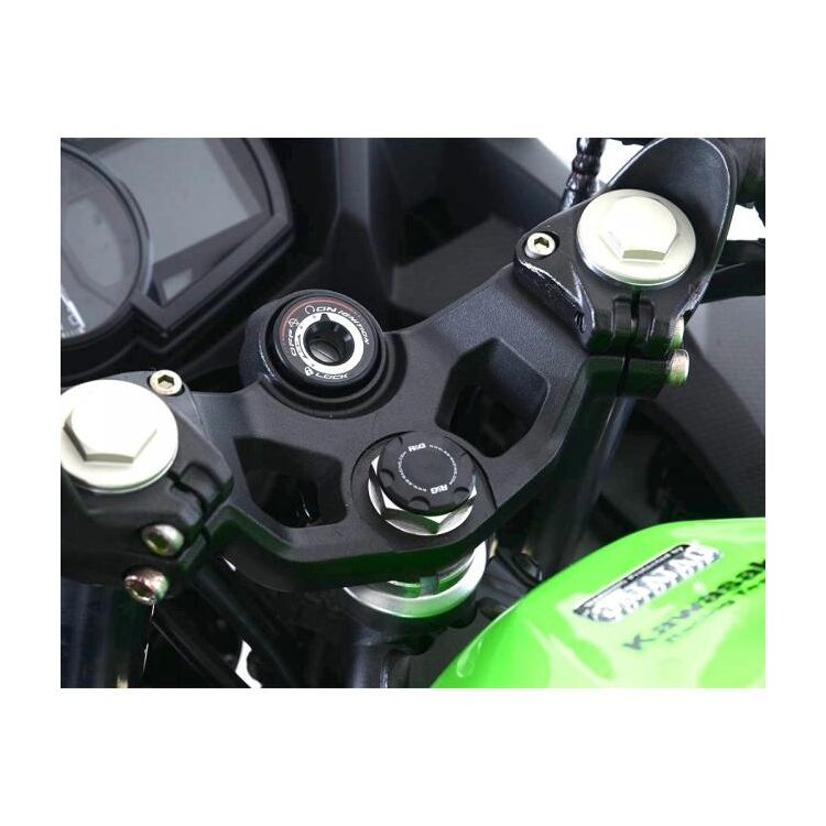 R&G Racing Steering Stem Nut Cap Kawasaki Ninja 400 / Z400 / Indian FTR 1200