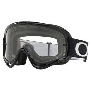 Oakley O Frame MX Goggles Jet Black/Clear [Open Box]