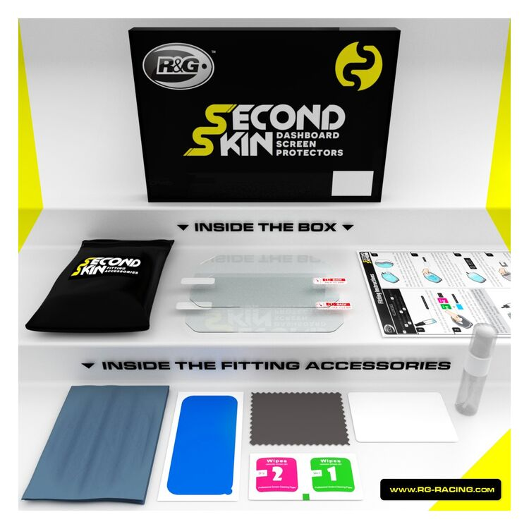R&G Racing Dashboard Screen Protector Honda Africa Twin 2018-2019