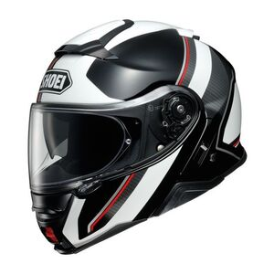 Shoei Neotec 2 Excursion Helmet Black/White / MD [Blemished - Very Good]