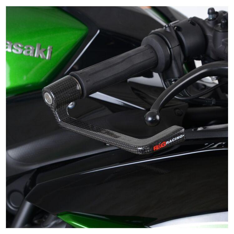 R&G Racing Carbon Fiber Brake Lever Guard Honda CB500X / CBR500R / Kawasaki H2 SX / SE+