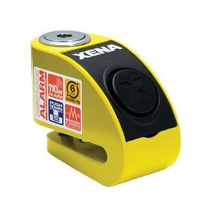 Xena XZZ6 Disc Lock With Alarm For Scooters Yellow [Open Box]