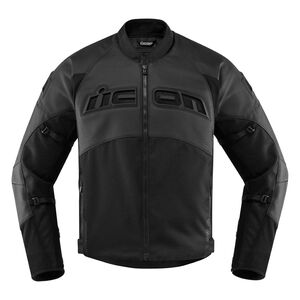 Icon Contra 2 Perforated Leather Jacket
